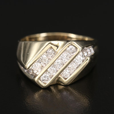 14K 1.50 CTW Diamond Ring
