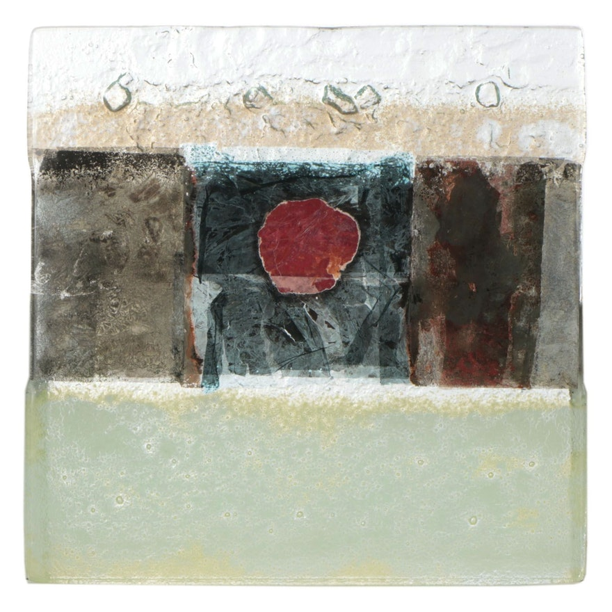 Iveta Bencová Art Glass Panel, 2012