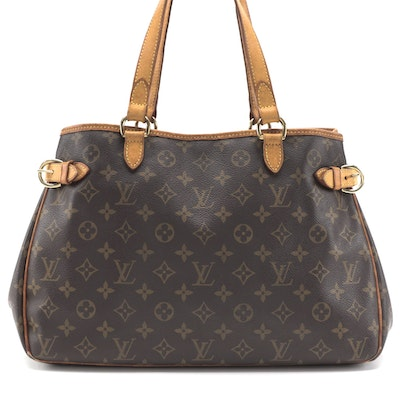 Louis Vuitton Batignolles Horizontal Bag in Monogram Canvas
