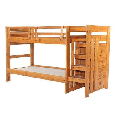 Woodcrest Pine Bunk Bed, 2010
