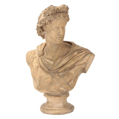 Composite Resin Bust after the Apollo Belvedere