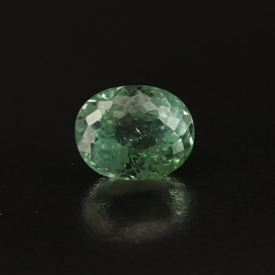 Loose 5.14 CT Oval Faceted Tourmaline
