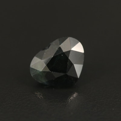 Loose 6.69 CT Pear Faceted Sapphire