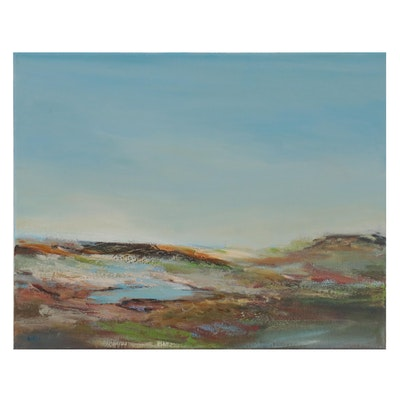 Lee Hafer Landscape Oil Painting, 21st Century