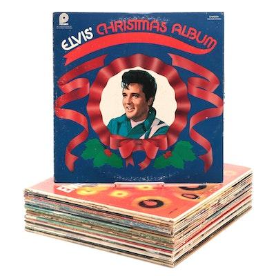 Elvis Presley, Anne Murray, Rusty Warren, Sonny James, and Other Vinyl Records
