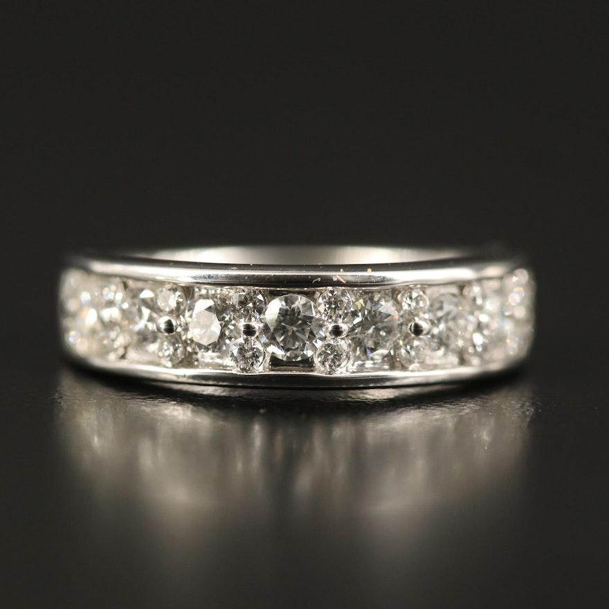 14k 1.06 CTW Diamond Ring
