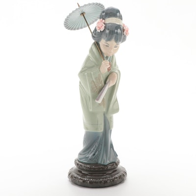 "Lladró ""Oriental Spring"" Porcelain Figurine"