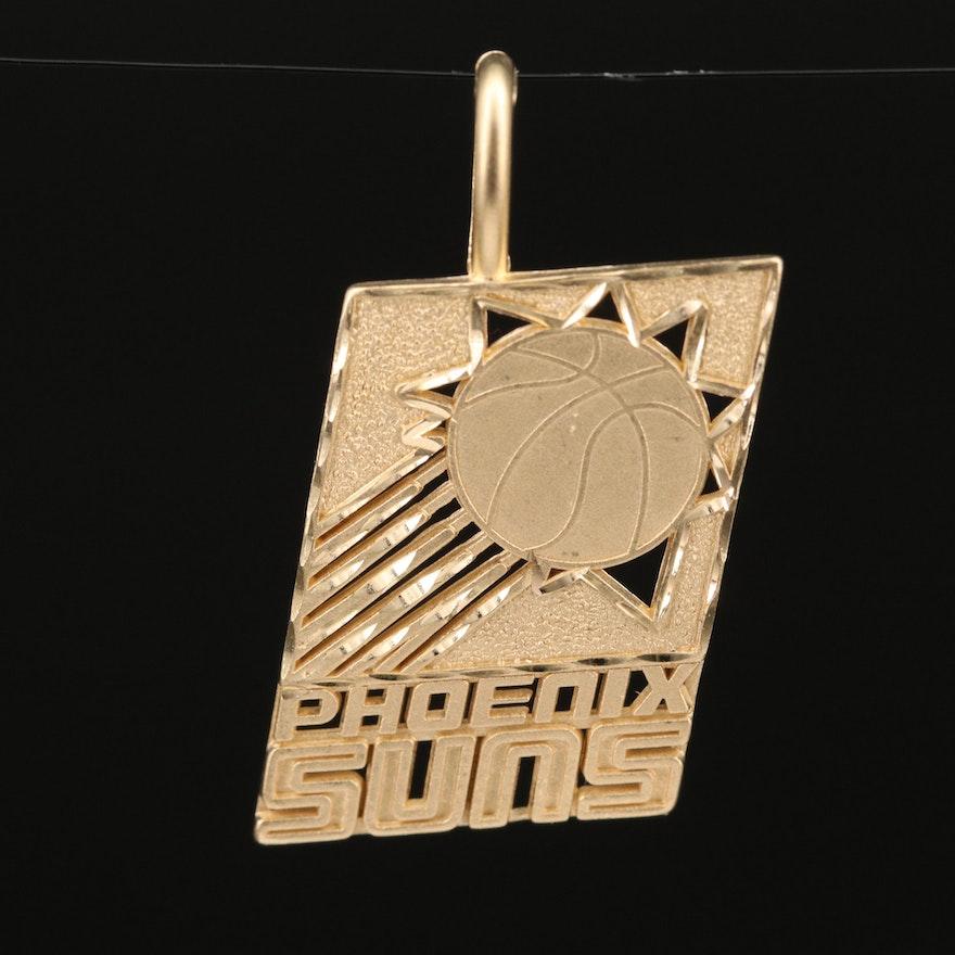 "14K ""Phoenix Suns"" Pendant"