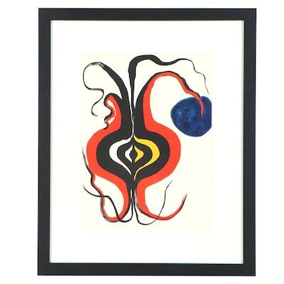 """Alexander Calder Color Lithograph for """"Derrière le Miroir,"""" 1966"""