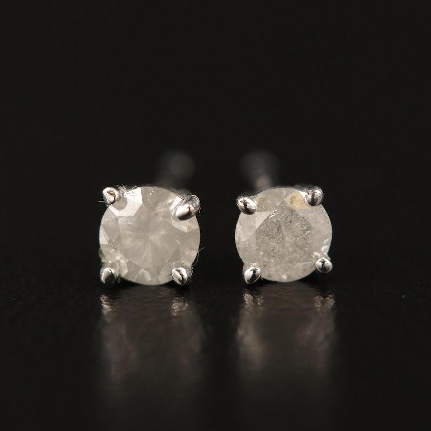 14K 0.31 CTW Diamond Stud Earrings
