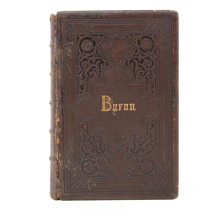 """""""The Poetical Works of Lord Byron'"""" Edited by Thomas Moore et al., 1867"""