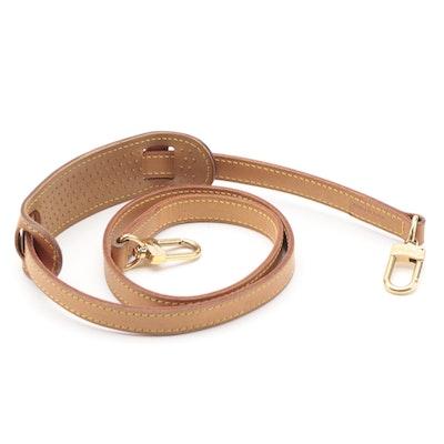 Louis Vuitton Detachable Shoulder Strap in Vachetta Leather