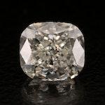 Loose 1.01 CT Modified Cushion Brilliant Diamond with GIA Report