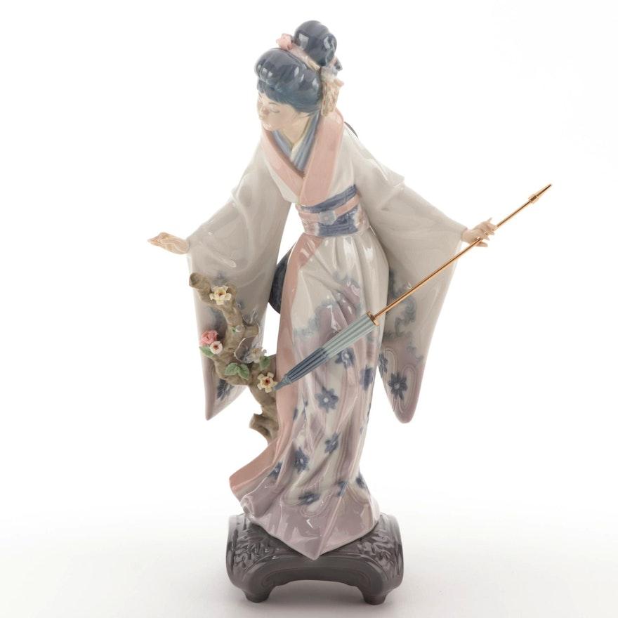 "Lladró ""Teruko"" Porcelain Figurine Designed by Salvador Debon"