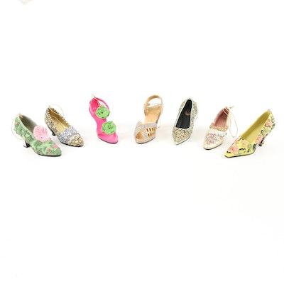Metropolitan Museum of Art Composite Designer Fashion Shoe Ornaments