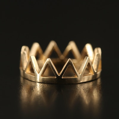 14K Crown Band