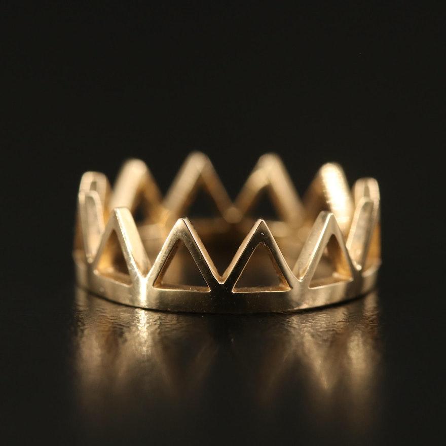 14K Crown Band