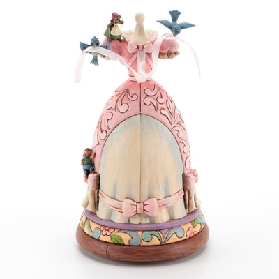 "Jim Shore ""A Dream Is A Wish Your Heart Makes"" Disney Cinderella Figurine"