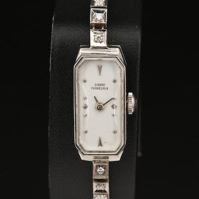 Girard-Perregaux 14K Diamond Wristwatch