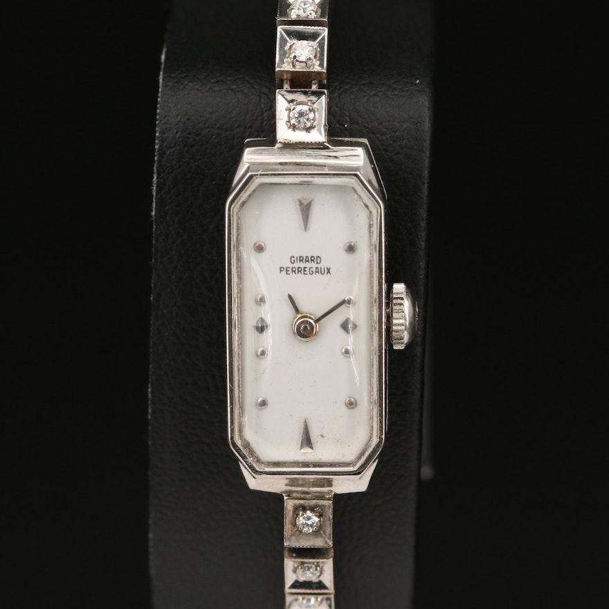 Girard-Perregaux 14K Diamond Wristwatch