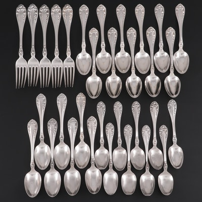 "Wallace ""Rose"" Sterling Silver Flatware"