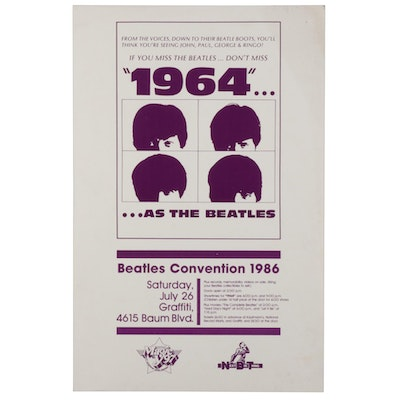 1986 Beatles Convention Poster