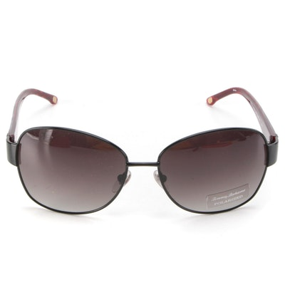 Tommy Bahama TB7011 Belize In Yourself Polarized Oval Sunglasses with Case