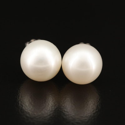 10K Pearl Stud Earrings