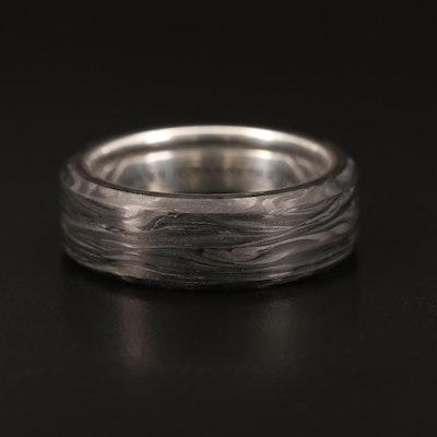 David Yurman Sterling Forged Carbon Band