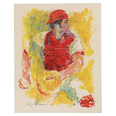 Offset Lithograph after LeRoy Neiman, circa 1970