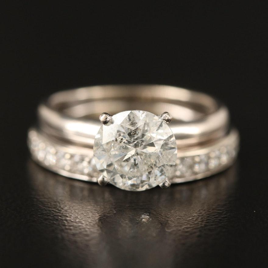 14K 1.80 CTW Diamond Ring