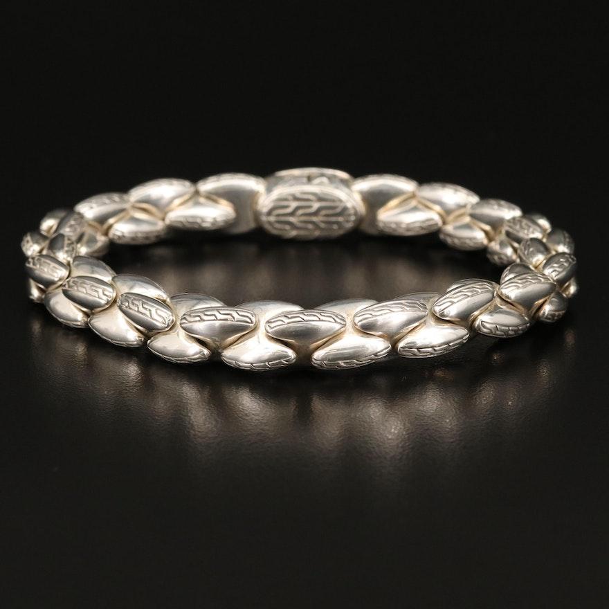 John Hardy Fancy Link Sterling Bracelet