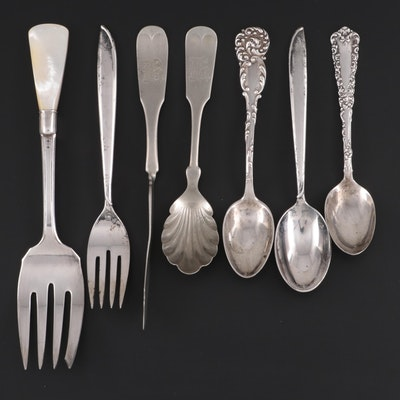 International Silver, Duhme & Co. and Other Sterling and Silver Plate Flatware