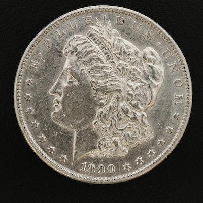 1890-S Morgan Silver Dollar