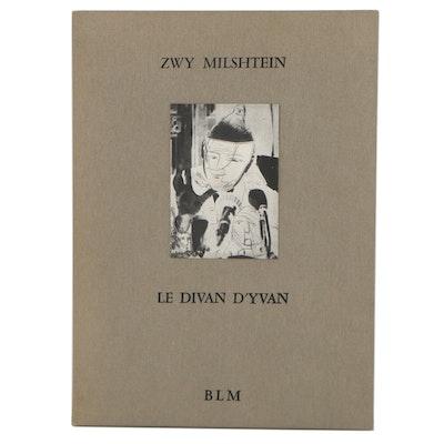 "Zwy Milshtein Portfolio of Etchings ""Le Divan d'Yvan,"" 1989"