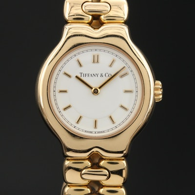 Tiffany & Co. Tesoro 18K Swiss Wristwatch