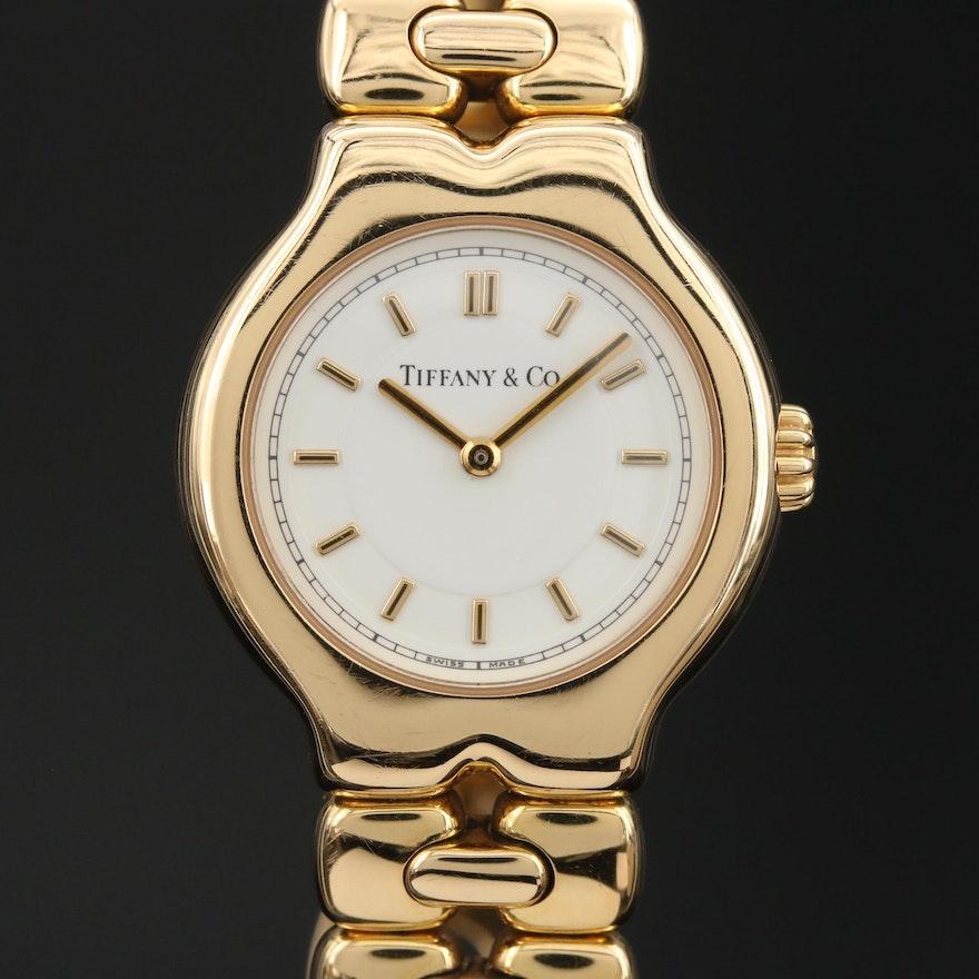 Tiffany & Co. Tesoro 18K Swiss Wristwatch