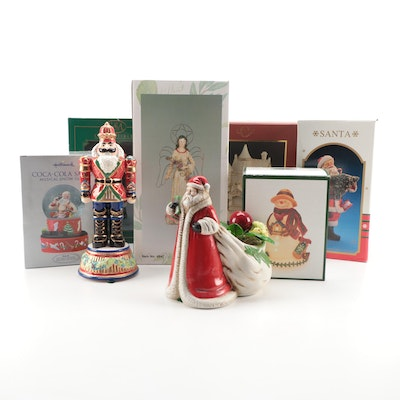 Lenox Lighted Victorian House Figurine and Other Seasonal Décor