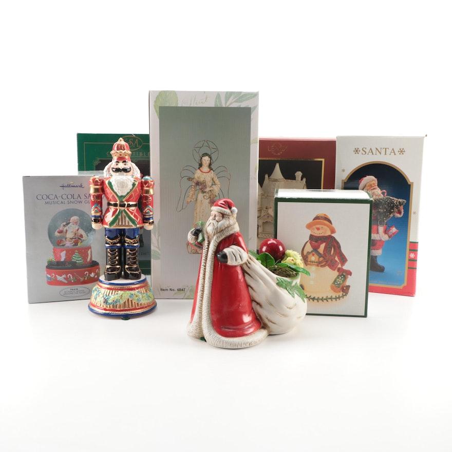 Lenox Lighted Victorian House Figurine and Other Seasonal Décor