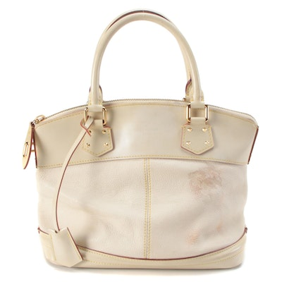 Louis Vuitton Lockit PM Bag in Suhali Goatskin Leather