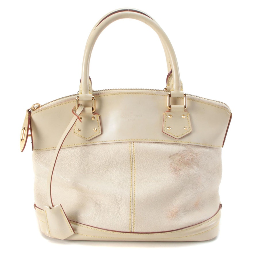 Louis Vuitton Lockit PM Bag in Suhali Goatskin Leather