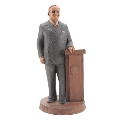 Tom Clark Harry S. Truman Resin Figurine, 1994