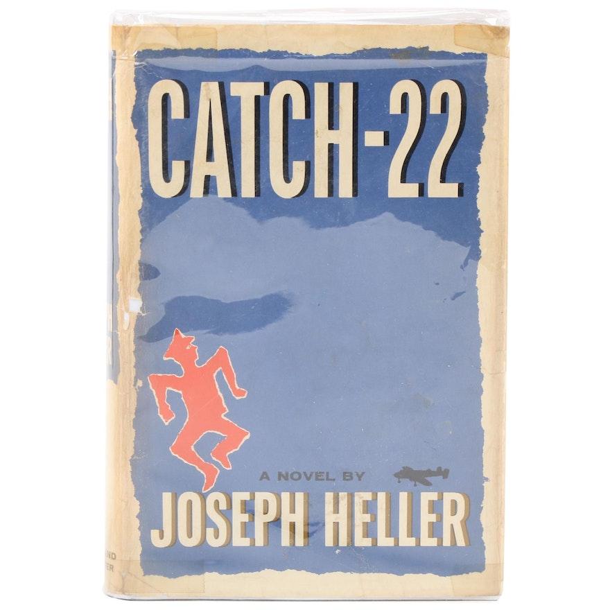 "Fourth Printing ""Catch-22"" by Joseph Heller, 1961"