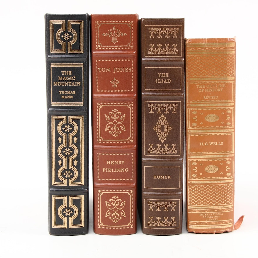 """Franklin Library Classics Including """"The Magic Mountain"""" by Thomas Mann"""