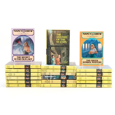 """Nancy Drew"" Mystery Novels by Carolyn Keene, Mid to Late 20th Century"