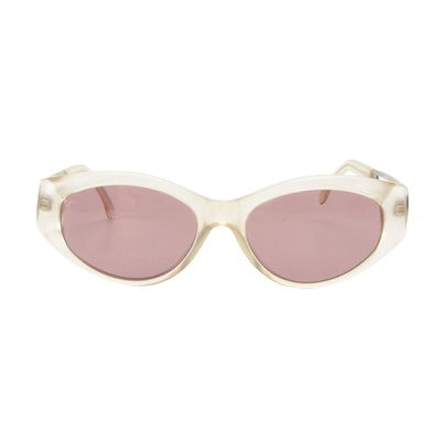 Fendi FS 143 Satin Crystal Sunglasses with Case