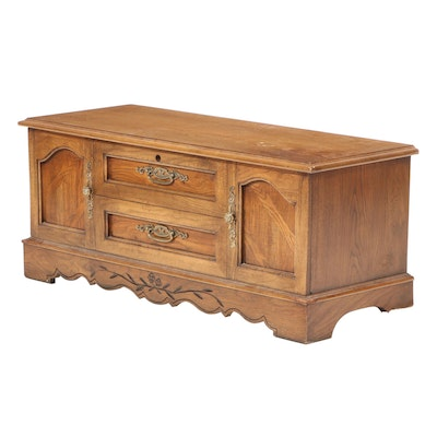 "Lane ""Aroma-Tite"" French Provincial Style Cedar Chest, Late 20th Century"