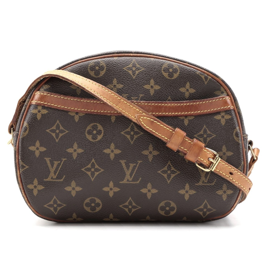 Louis Vuitton Blois Crossbody Bag in Monogram Canvas