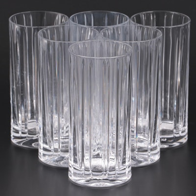 "Ralph Lauren ""Classic"" Crystal Highball Glasses, 2008"