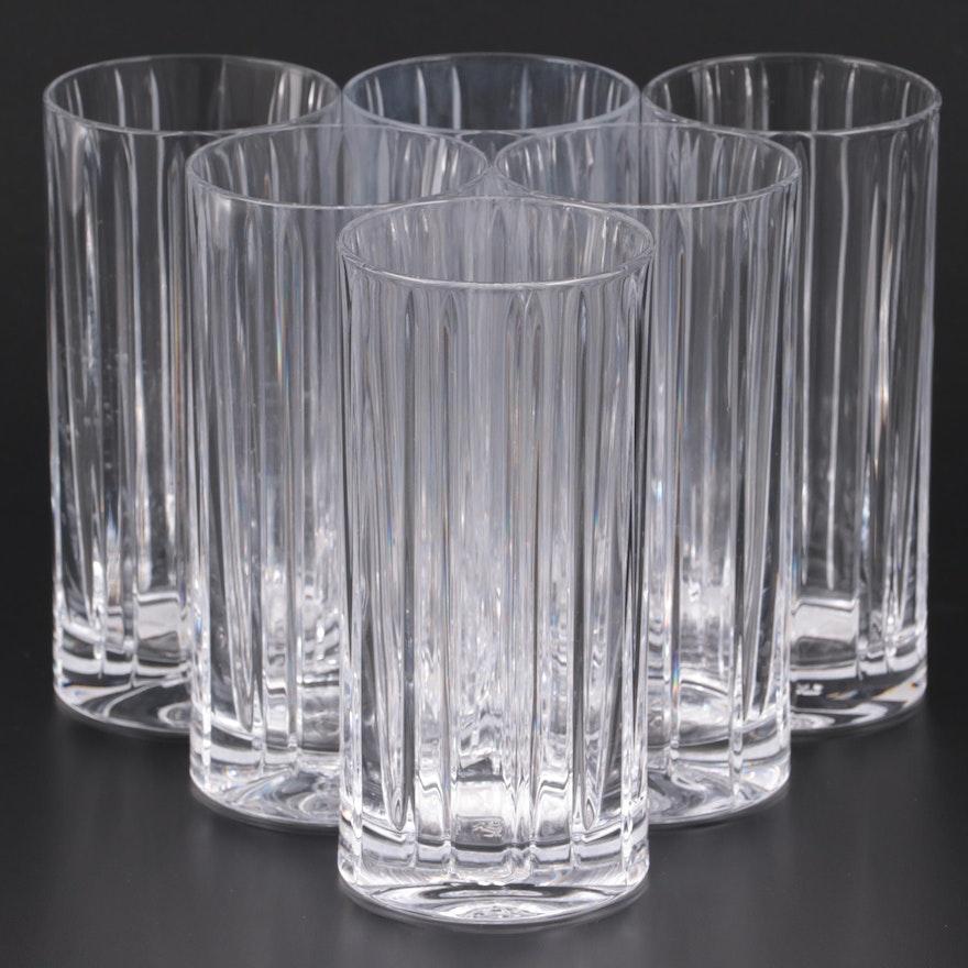 "Ralph Lauren ""Classic"" Crystal Highball Glasses, 2008"